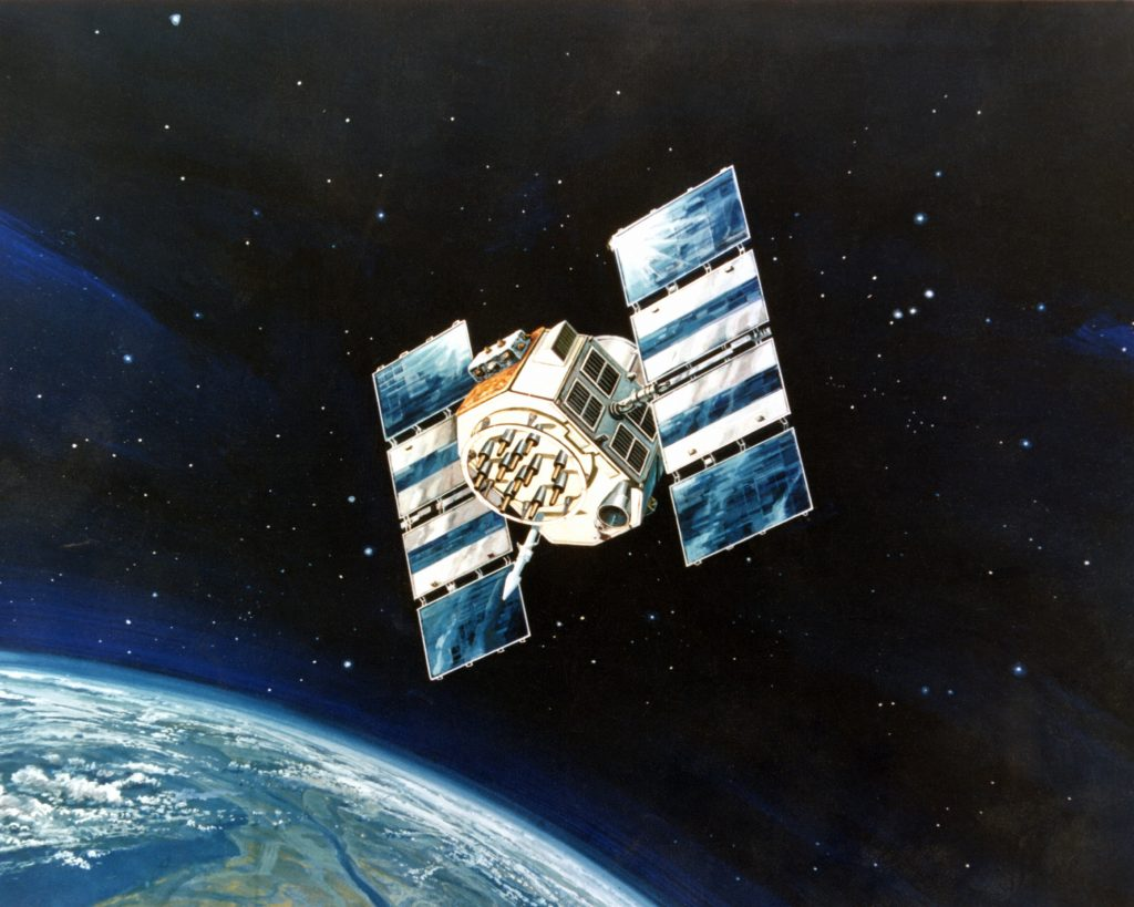 NAVSTAR Global Positioning System satellite
